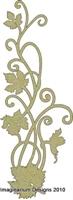 Εικόνα του Vine flourish - Chipboard
