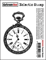 Picture of Rubber Stamp -  Pocket Watch
