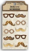 Εικόνα του Kraft Wood Mustaches