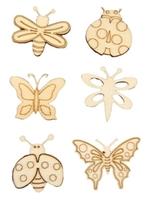 Εικόνα του Ξυλινα Διακοσμητικα - Πεταλουδες