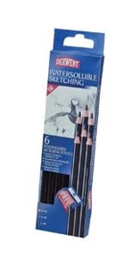Picture of Watersoluble Sketching Pencils