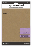 Picture of Kraft Cardstock 21,5 x 28