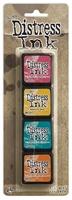 Εικόνα του Μελάνια Distress Ink Minis - Kit 1