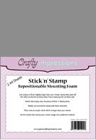 Εικόνα του Stick n Stamp - Mounting Foam Φύλλα αφρού για σφραγίδες.