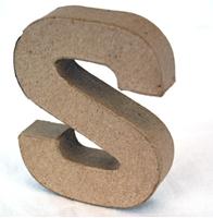 Picture of 3D Γράμματα 10cm Γράμματα - S