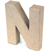 Εικόνα του 3D Γράμματα 10cm Γράμματα - N