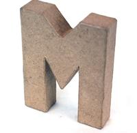 Εικόνα του 3D Γράμματα 10cm Γράμματα - M