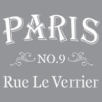 Εικόνα του Στενσιλ Parisian Street - Americana Decor 30.5 x 30.5 cm