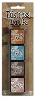 Εικόνα του Μελάνια Distress Ink Minis - Kit 6