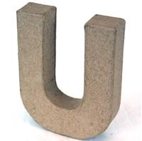 Εικόνα του 3D Γράμματα 10cm Γράμματα - U