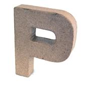 Εικόνα του 3D Γράμματα 10cm Γράμματα - P