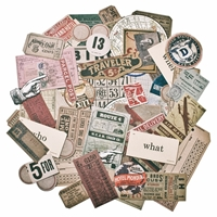 Εικόνα του Tim Holtz Idea-ology Ephemera Pack, Expedition