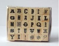 Εικόνα του Σφραγίδες Γραμματοσειρά σε Ξύλινες Βάσεις Σet 3 - Ransom