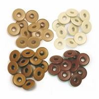 Εικόνα του Eyelets, Wide - Aluminum Brown