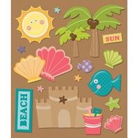 Εικόνα του Sticker Medley - Beach Seashells