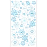 Εικόνα του Αυτοκόλλητες Χιονονιφάδες -  Winter Snowflakes With UV Accents