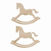 Εικόνα του Ξυλινο Διακοσμητικο - Rocking Horses