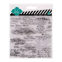 Picture of Script - Heidi Swapp Clear Stamp