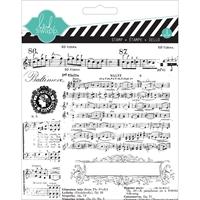 Εικόνα του Music Notes - Heidi Swapp Clear Stamp