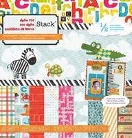 Picture of Paper Stack - Alpha Zoo