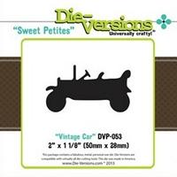 Εικόνα του Μήτρα Κοπής Steel Die Sweet Petites - Vintage Car