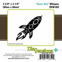 Εικόνα του Μήτρα Κοπής Steel Die Whispers - Space Ship