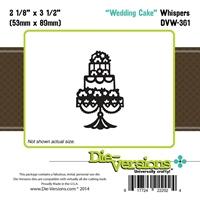 Εικόνα του Steel Die Whispers - Wedding Cake