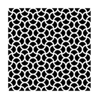Εικόνα του Stencil 15x15 - Ripples