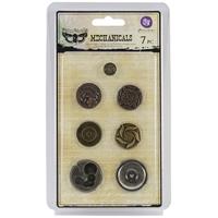 Picture of Mechanicals Metal Embellishments - Vintage Center