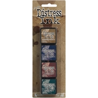 Εικόνα του Μελάνια Distress Ink Minis - Kit 12