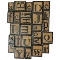 Εικόνα του Ξυλινα Γράμματα - Τυπογραφικά Στοιχεία