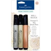 Εικόνα του Faber-Castell  PITT Mix & Match Stamper's Big Brush Pens - Subtle Tones