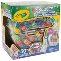 Picture of Crayola Pip-Squeaks Telescoping Mini Marker Tower