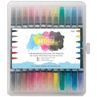 Picture of Artiste Watercolor Dual Tip Pens 12/Pkg