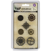 Picture of Mechanicals Metal Embellishments - Gears