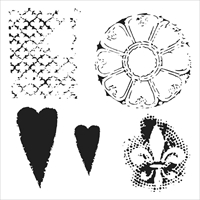 Εικόνα του Crafter's Workshop Template 15x15 - Gothic Romance