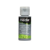Εικόνα του DecoArt Media Antiquing Cream - Medium Grey Κρεμα Παλαιωσης