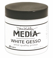 Picture of Dina Wakley - White Gesso 4 oz. Jar