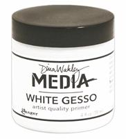 Εικόνα του Dina Wakley White Gesso - Λευκο Γκεσσο 4oz