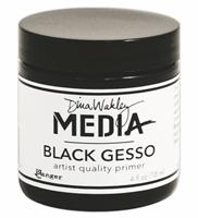 Εικόνα του Dina Wakley Black Gesso - Μαυρο Γκεσσο 4oz