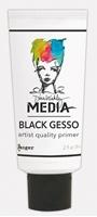 Εικόνα του Dina Wakley Black Gesso - Μαυρο Γκεσσο 2oz