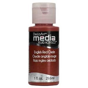 Picture of DecoArt Media Antiquing Cream Κρεμα Παλαιωσης - English Red Oxide