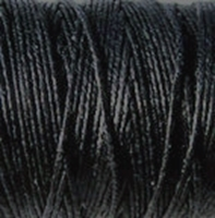 Picture of Waxed Linen Thread Black 10m