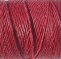 Picture of Waxed Linen Thread Country Red 20m