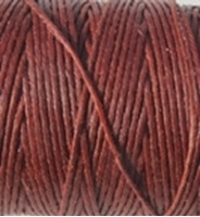 Picture of Waxed Linen Thread Dark Rust 20m