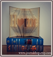 Picture of Book Folding Pattern - Home with Heart