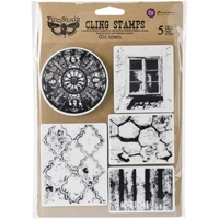 Picture of Finnabair Cling Stamps - Old Town