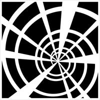 Εικόνα του Stencil 15x15 - Spiral Staircase