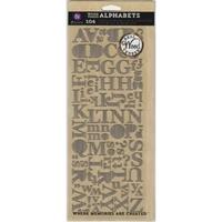 Εικόνα του Αυτοκόλλητα Ξύλινα Γράμματα - Wood Veneer