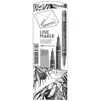 Εικόνα του Graphik Line Maker Set 3/Pkg - Graphite